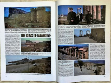 "Nicholas helped Winston and Gail Ramsay to find the locations where the ""Guns of Navarone"" filmed in Rhodes, (for their magazine After the Battle www.afterthebattle.com  Issue 177)"