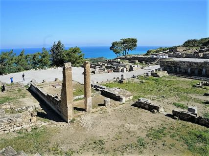 Cheap shore excursions to Ancient Kamiros and Doric Temple