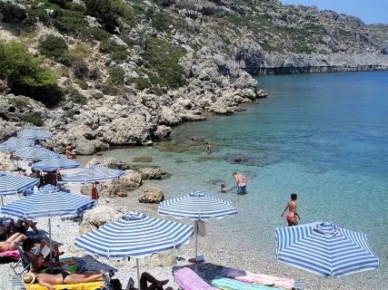 Anthony Quinn Bay Rhodes Greece