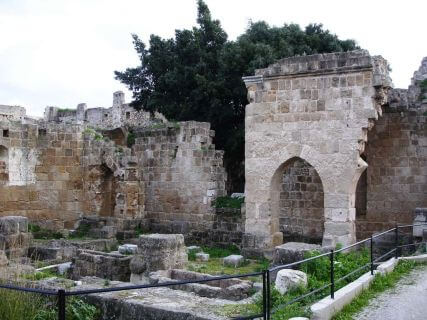 Early Christian Byzantine Church of Archangel Michael, cruise shore excursions in Rhodes Greece
