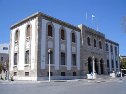 The Bank of Greece, Rhodes Cruise Excursions, Private Tours