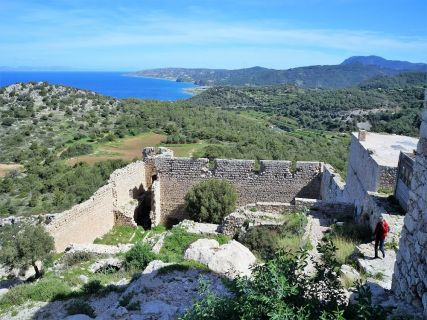Excursions to South West Coast of Rhodes Island and Kritinia Castle